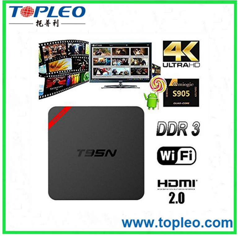 Android Tv Box Quad Core S905 T95N-Mini MX plus for Browser