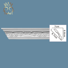 Cheap decorative exterior cornice polyurethane crown moulding