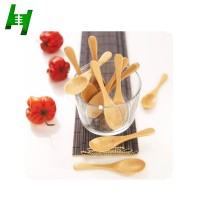 Mini bamboo wooden spoon
