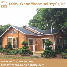 70mm log cabin Beautiful Prefab Wooden Beach house/Cottage Log House Made in China