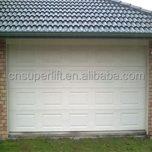 Garage door/Sectional sandwich panel garage door /Polyurethane foam inside