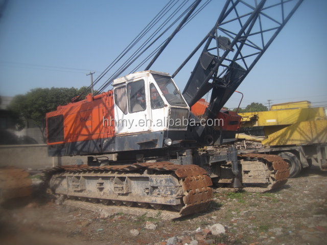 80 ton HITACHI KH300 crawler crane Japan origin for sale