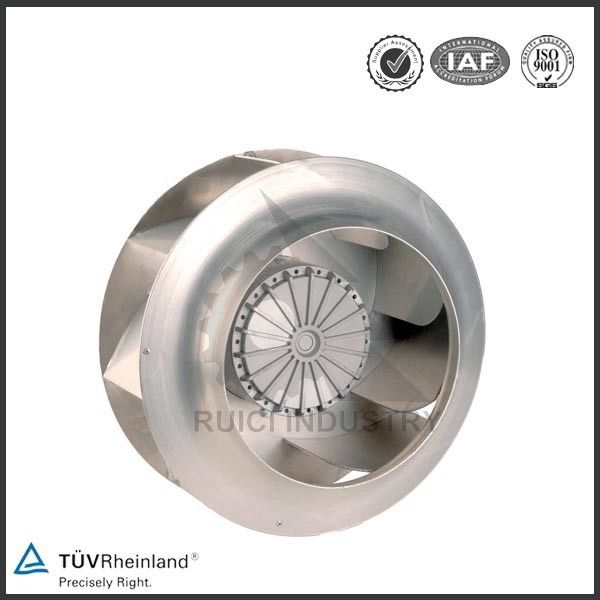 High quality stainless alloy electric motor cooling impeller