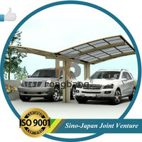 garden products : high quality aluminum car shelter price