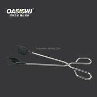 iron food tongs;kitchen tongs,food tongs