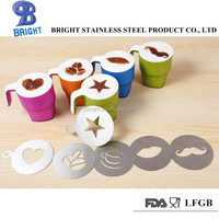 a10101Stainless steel coffee stencil