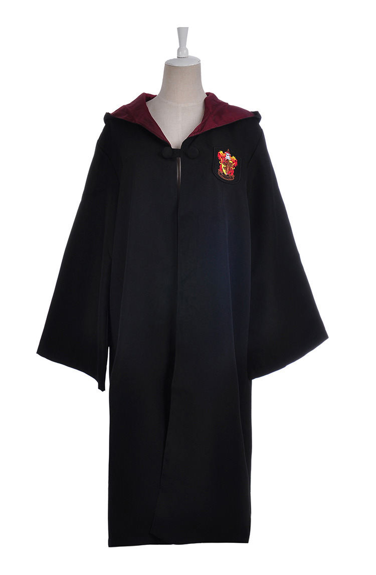 Cosplay Harry Potter Gryffindor robe capa tamaño Quidditch traje