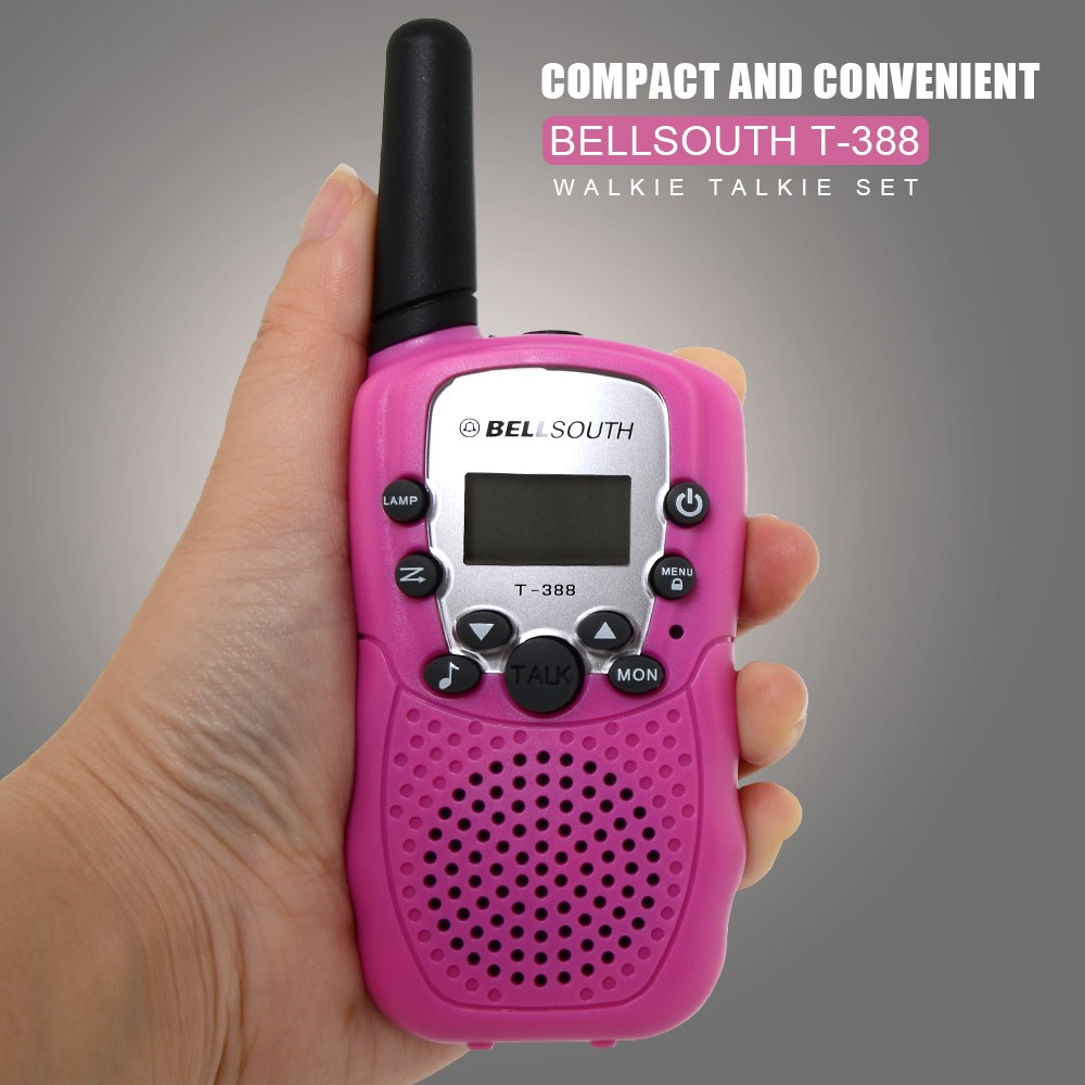 Child small cheap handheld two way radio /gift kids walkie talkie with several colors