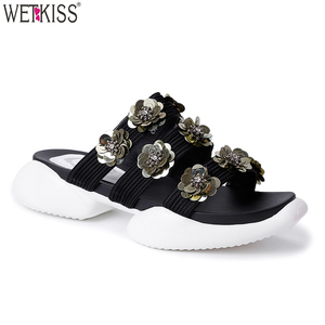 New Arrival Polyurethane Woman Slipper Fashion Summer Platform Slipper