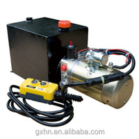 DC 12v 24v hydraulic power pack