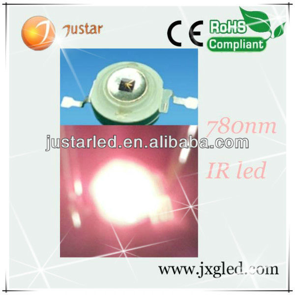led 780nm high power ir 1w