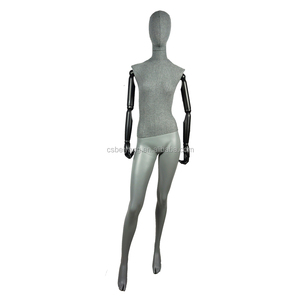 Full-body female mannequin wrap fabric cloth cover fashion clothing store KO-7B