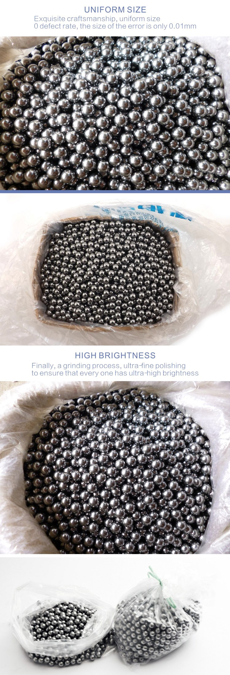 "6"" low carbon impact test steel ball for bearing. stainless / carbon / chrome steel ball, bearing steel ball"