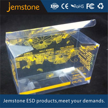 printed frosted plastic box with hanging hole plastic folding boxes with hang hole
