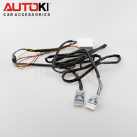 Autoki High Brightness RGB colorful 10W led custom headlights for car motorcycles red devil eye