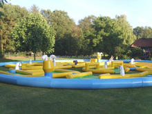 crazy golf ground, mini inflatable golf course games