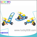 New kids tricycle with trailer wholesale gift for kids ride on car toys with music and ligh 3 types of gameplay alibaba in china