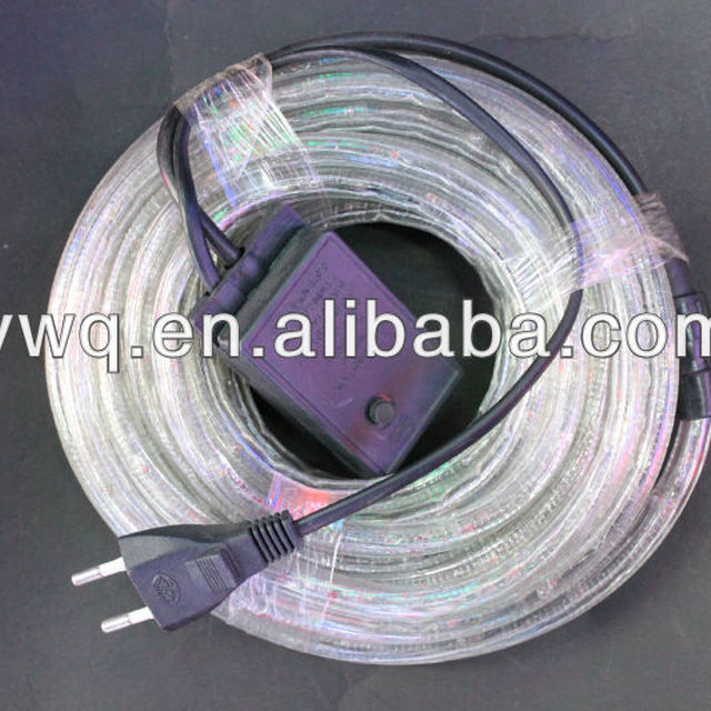 2 wire 100mm led rope lightyuanwenjun three wire dimmable led rope light wholesale led rope light mozeypictures Gallery