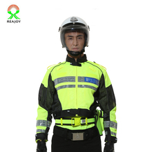 Factory supply wholesale custom waterproof police reflective motorcycle jackets