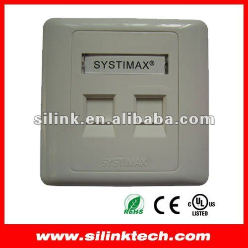 Systimax Faceplate RJ45 Wall Outlet