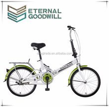 New model 16/20 inch sigle speed folding bike bicycle cycle