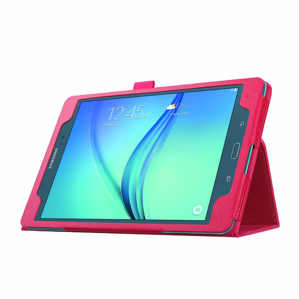 "Flip Stand Case for Samsung Galaxy Tab A T350 8.0"", Leather Cover for Tablet Samsung"