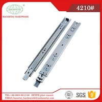 Office Furniture High Quality Full Extension 42mm Ball Bearing Drawer Slide