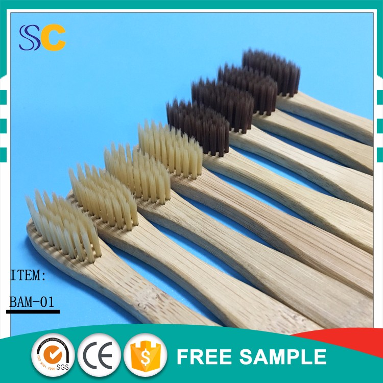 wholesale 100% biodegradable bamboo toothbrush