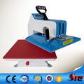 CE British manual shaking head sublimation garment heat transfer machine