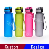 1 Litre Wide Mouth Eco Friendly BPA Free Tritan Plastic Sports Water Bottle