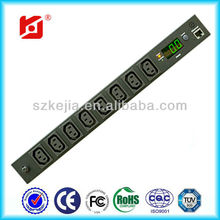 8 Outlets/ Remote Current Monitoring/Intelligent power distribution unit NPDU-MTH-1023J-08N1