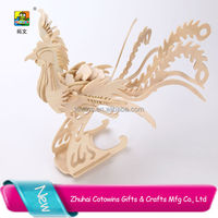 Best selling phoenix girl sex china carton jigsaw puzzle puzzle 3d animal