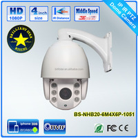 4 inch 1080p Video Surveillance 4x Zoom IP Mini Onvif Ptz Speed Dome Camera