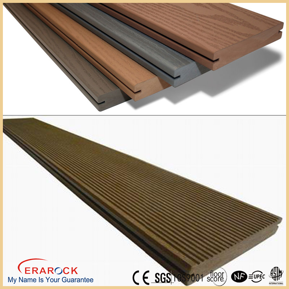 ASA /PVC decking board manufacturers composite laminated wood eco-friendly wpc deck