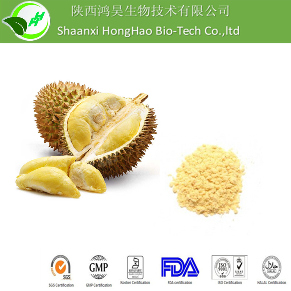Hot Sale 100% Pure Natural freeze dried durian powder/durian fruit powder