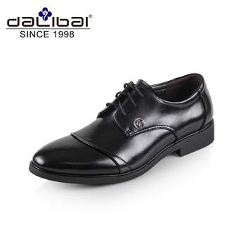 Experienced OEM Customize Black Leather Shoes for Men