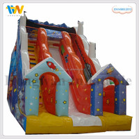 new style giant inflatable water slide swimming pool with bouncy castles on sale