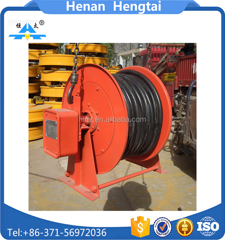 Hot sale retractable cable reel for electronic, spring driven cable reel with CE