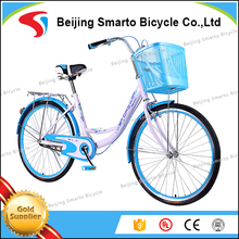 Popular 24 inch single speed street girls dutch bike for sales