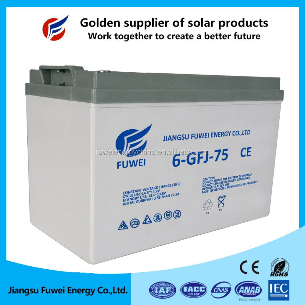12V 65AH Sealed Lead Acid Battery Power Container