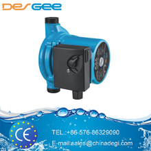 TAIZHOU DEGEE PUMP hot&cold water circulating pump DG25-125 180 small domestic circulator pump