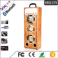 BBQ KBQ-175 Professional portable dvd player Wooden karaoke blue tooth wireless megaphone quran Speaker