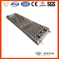 Low price silver anodized extruded aluminium planks decking