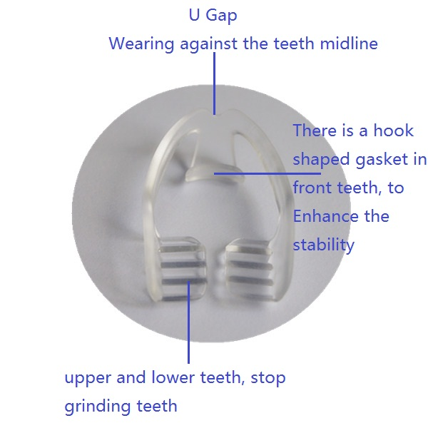 Bruxism mouth guard, Stop grinding mouth guard, Night guard with CE