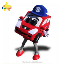 Funtoys CE Custom Corporate Car Mascot Costume for Advertising