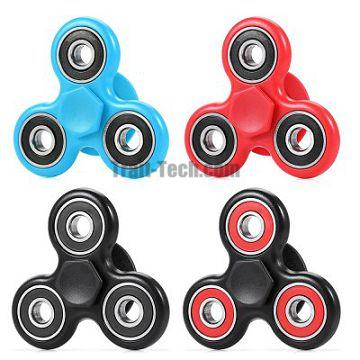 Engraved EDC Zinc Alloy Hand Fidget Spinner Stress Relief Product Adult Fidgeting Toy