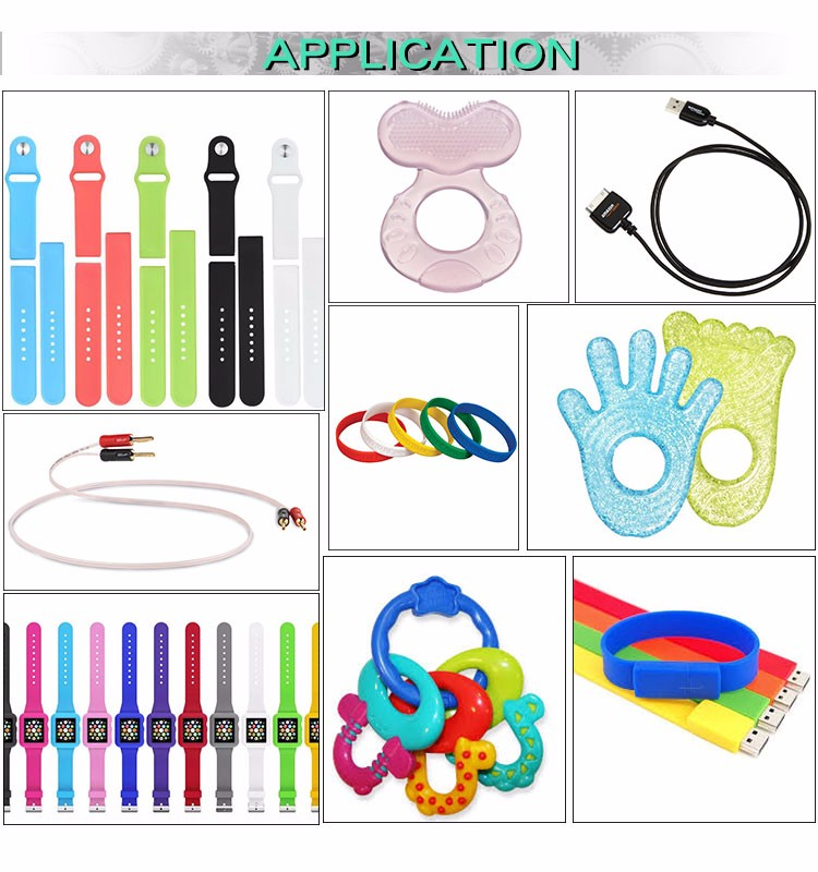 High precision The servo motor injection moulding machine/silicone bracelet making machine/silicone wristband making machine