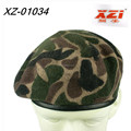 Military beret school beret hat Camouflage