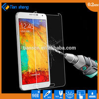 Best price Mobile phone accessory 9H 0.15mm tempered glass screen for samsung s5