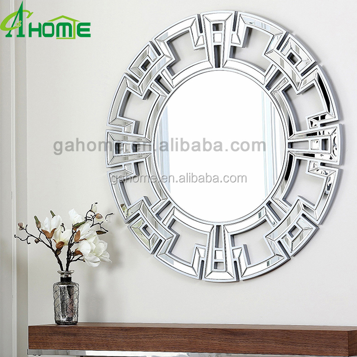 clear entry way round Mirror